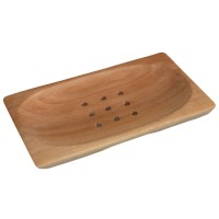 Classic Mahogany Soap Dish - Rectangle
